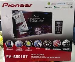 pioneer fh s501bt. pioneer fh-s501bt cd rds reciever bluetooth android/iphone compatibility. bnib fh s501bt ,