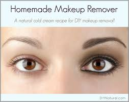 homemade makeup remover a natural