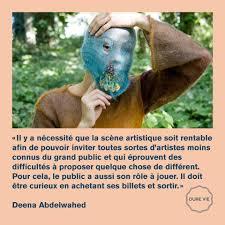 Une Citation De Deena Abdelwahed Weather Festival Facebook