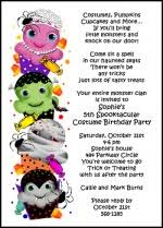 costume party invites spooky halloween invitations for scary halloween party