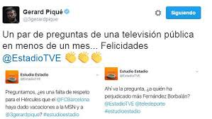 Spanish Tv Chanel Spanish State Owned Tv Channel Upsets Pique Marca In English