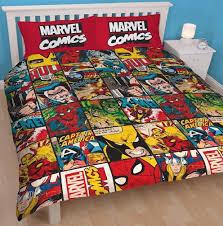 cartoon character double duvet set quilt cover kids childrens pillowcase bedding