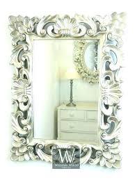 silver wall mirror silver frame wall mirror silver wall mirror baroque wall mirror baroque silver vintage