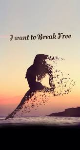 Free motivational quotes I want to Break Free Inspirational motivational Quote iPhone 95