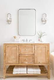 Cane Bath Vanity Cabinet Doors Design Ideas
