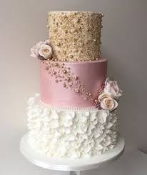 167 Best Pink Gold Cake Images In 2019