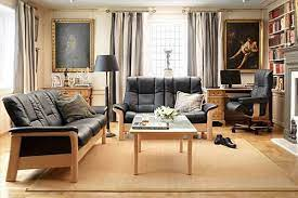 stressless low back buckingham sofa by