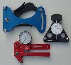 Park Tension Meter Chart Wheelbuilding Spoke Tension And Tensiometers