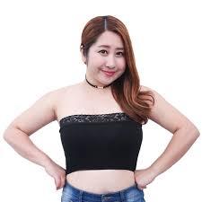 plus size tube tops plus size l 3xl sexy tube top black white lace bustier underwear