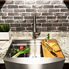 Akdy 30 X 20 Farmhouse Kitchen Sink With Basket Strainer Reviews