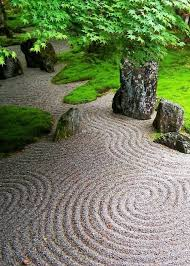 a pop up zen garden complete with sacred japanese archway torii gravel rockaples members of the public are invited to journey through the arch