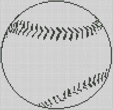 Free Online Cross Stitch Patterns Baseball Cross Stitch