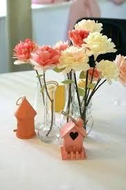 Wedding Paper Flower Centerpieces Tissue Paper Flower Centerpiece Wedding Paper Flower Centerpieces At