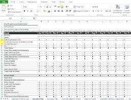 profit and loss excel spreadsheet simple profit and loss excel template profit and loss template