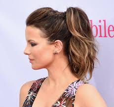 Pony Tail Hair Style kate beckinsale ponytail hair photos popsugar beauty australia 3403 by wearticles.com