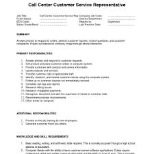 Customer Support Resume  resume template customer services resume     Jobcoke com Call Center Resume Sample No Experience   ALEXA RESUME   call center skills resume