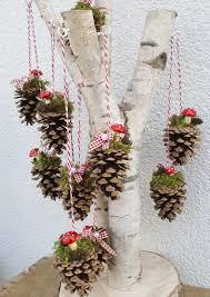 Weihnachten Baumschmuck Dekoration Zapfen Dekozapfen Tannenzapfen Baumhänger Weihnachten