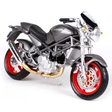 maisto 1 18 ducati monster s4 motorcycle bike diecast model toy