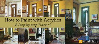 learn everything you need to know about acrylic painting for beginners in this free guide
