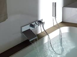 sophisticated tub wall mount faucet great wall mounted bathtub faucet with hand shower in wall