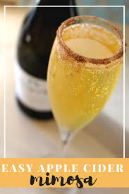 getting holiday ready with my new air wine cooler easy apple cider mimosa recipe
