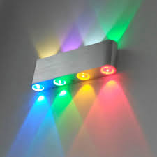 Multi Color Wall Light 8leds Wall Light Lamp Sconce Multi Color Custom Made 800lm Ac85 265v Surfaced Mounted Light Fixture For Home Hotel Corridor Vr In Led Indoor Wall