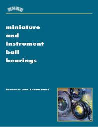 Ball Bearing Interchange Chart Bearing Interchange Chart In Miniature And Instrument