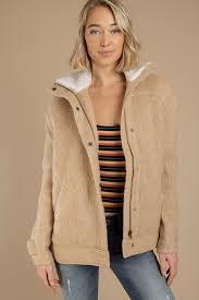 coats camel deep canyon shearling wool jacket