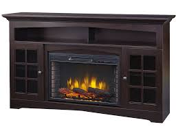 huntley electric fireplace tv stand in espresso 370 196 48