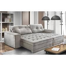 sofa retratil. estofado modulado retrtil reclinvel genova 270 mts bianchi mveis cor e5000 sofs no casasbahiacombr sofa retratil o