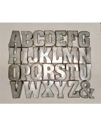 metal letters 7 letters wall decor galvanized metal letters wall letters wedding decor rustic weddi