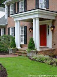 how to build a traditional front porch with columns