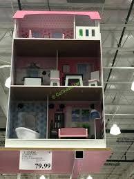 costco doll house kids posh 2 in 1 kidkraft dollhouse with elevator costco