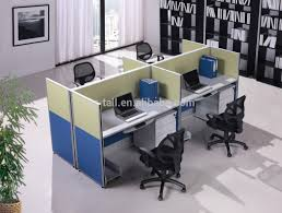 Modern Cubicle 4 Seat Office Workstation Cubicle Modern Design Telemarketing