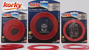 4 inch toilet flapper. flush valve seal kits by korky. korky toilet repair 4 inch flapper