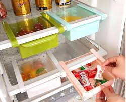 freezer organizer baskets shelves shelf