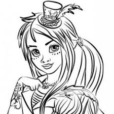 Descendants 2 Uma Coloring Pages At Getdrawingscom Free For