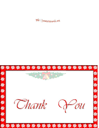 Christmas Note Template Christmas Thank You Note Template Free Printable Holiday Thank You