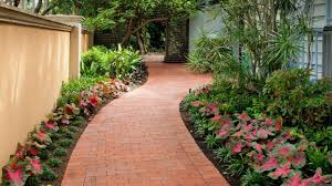 Front Yard Pathway Flanked with Flowers Improve Your Home's Curb Appeal -  YouTube