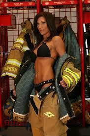 Naked girls in firefighter gear