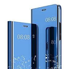 Kavisha Tec Mirror Flip Stand <b>Case for</b> Redmi Note 8 Pro Clear <b>View</b>...