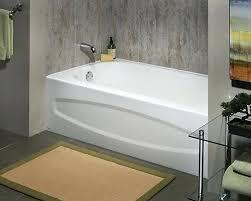 enameled steel tub standard cadet 5 feet enamel steel bathtub with left hand wish enameled regard
