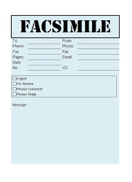 Printable Fax Sheet 40 Printable Fax Cover Sheet Templates Template Lab