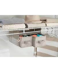 hanging closet organizer with drawers. InterDesign Chevron Fabric Hanging Closet Storage Organizer, 2 Drawers For  Wire Shelving, Taupe/ Hanging Closet Organizer With Drawers G