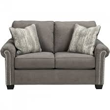 Ashley Furniture Gilman Loveseat in Charcoal
