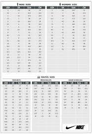 Puma To Nike Size Chart 28 Unbiased Nike Conversion Chart