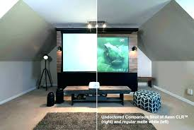 dark wall paint vs projector screen cool painting wall for projector screen ideas paint large size create projector wall paint