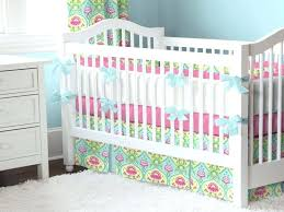 pink and aqua crib bedding aqua and pink nursery bedding pink and aqua crib bedding