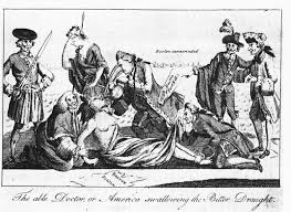British Actions And Colonial Reactions Chart The Intolerable Acts And The First Continental Congress