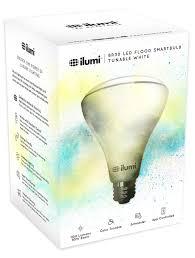 Illumi Light Bulbs Adjustable White A19 Led Smart Light Bulb Ilumi